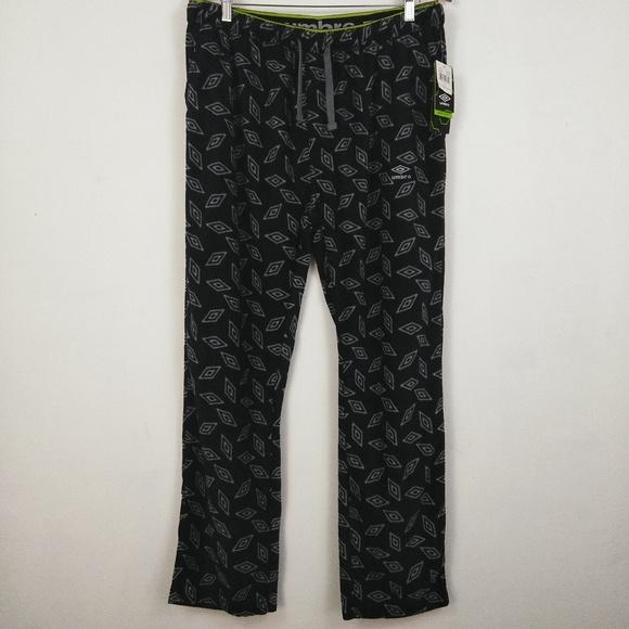 Black Size XXL Umbro Men/'s Mesh Pieced Compression Tight Leggings